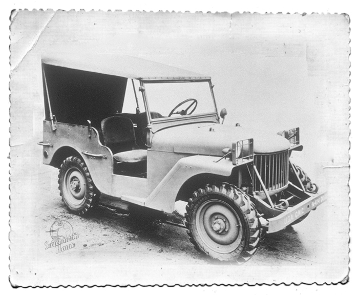willys quad original pilot 1940